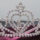 Sweet Happy Birthday 16 Silver Rhinestone tiara;Fancy Headpiece;Dancer regal;Girls Tiaras #8977