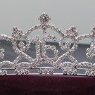 Sweet Happy Birthday 16 Silver Rhinestone tiara;Fancy Headpiece;Dancer regal;Girls Tiaras #1918