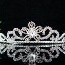 Sweet Silver Bridal Headpiece;Dancer regal;Bridesmaid Tiaras;opera Rhinestone Wedding tiara#3330
