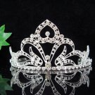 Silver Bridal Headpiece;Dancer regal;Elegance Bridesmaid Tiaras;opera Rhinestone Wedding tiara#6232