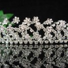 Wedding Headpiece;Elegance Dancer Opera regal;Bridesmaid Tiaras;Silver Rhinestone Bridal tiara#1515