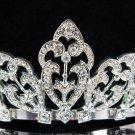 Wedding Headpiece;Elegance Dancer Opera regal;Bridesmaid Tiaras;Silver Rhinestone Bridal tiara#T28
