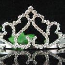 Wedding Headpiece;Elegance Dancer Opera regal;Bridesmaid Tiaras;Silver Rhinestone Bridal tiara#1107
