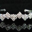 Wedding Headband;Elegance Dancer Opera regal;Bridesmaid Tiaras;Silver Rhinestone Bridal tiara#416