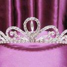 Silver Wedding Headpiece;Rhinestone Bridal tiara;Elegance Dancer Opera regal;Bridesmaid Tiaras#63s