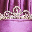 Golden Wedding Headpiece;Rhinestone Bridal tiara;Elegance Dancer Opera regal;Bridesmaid Tiaras#63g