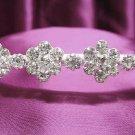 Silver Wedding Headband;Rhinestone Bridal tiara;Elegance Dancer Opera regal;Bridesmaid Tiaras#345