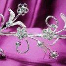 Silver Wedding Headband;Rhinestone Bridal tiara;Elegance Dancer Opera regal;Bridesmaid Tiaras#2525