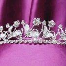 Silver Wedding Headband;Rhinestone Bridal tiara;Elegance Dancer Opera regal;Bridesmaid Tiaras#2531