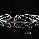 Silver Wedding Headband;Rhinestone Bridal tiara;Elegance Dancer Opera regal;Bridesmaid Tiaras#1253