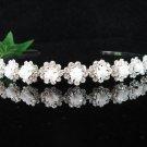 Silver Wedding Headband;Rhinestone Bridal tiara;Elegance Dancer Opera regal;Bridesmaid Tiaras#3664