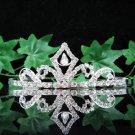 Silver Wedding Headpiece;Rhinestone Bridal tiara;Elegance Dancer Opera regal;Bridesmaid Tiaras#8590