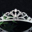 Silver Wedding Headpiece;Rhinestone Bridal tiara;Elegance Dancer Opera regal;Bridesmaid Tiaras#8760