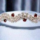 Wedding Headband;Silver Fancy Bridal headpiece;Rhinestone Dancer Opera regal;Bridesmaid Tiaras#2742r