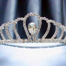 Wedding Headband;Silver Fancy Bridal headpiece;Rhinestone Dancer Opera regal;Bridesmaid Tiaras#sj50