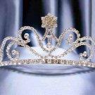 Wedding Imperial;Silver Fancy Bridal headpiece;Rhinestone Dancer Opera regal;Bridesmaid Tiaras#170