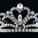 Silver New Wedding Regal;Fancy Bridal headpiece;Rhinestone Dancer Opera regal;Bridesmaid Tiaras#8760
