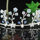 Wedding Silver Imperial ;Bridal headpiece;Rhinestone Dancer Opera Tiara;Bridesmaid Tiaras#903b