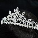 Luxurious Bridesmaid Tiaras;Dancer Opera Tiara;Wedding Silver Tiara;Bridal headpiece#12