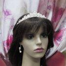 Luxurious Bridesmaid Tiaras;Dancer Opera Tiara;Wedding Silver Tiara;Bridal headpiece#n102