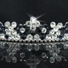 Dancer Opera Tiara;Elegance Bridesmaid Imperial;Wedding Silver Tiara;Bridal headpiece#164ny