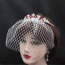 Dancer Opera Tiara;Elegance Bridesmaid Imperial;Wedding Silver Tiara;Bridal headpiece#164r