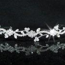 Fancy Bridesmaid Headband ;Dancer Opera Tiara;Wedding Silver Tiara;Bridal headpiece#2088