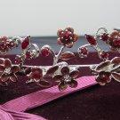 Fancy Silver Regal ;Dancer Opera Tiara;Wedding Silver Tiara;Bridal imperial#671R