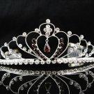 Elegance Headpiece;Dancer Opera Tiara;Wedding Silver Tiara;Bridal imperial#960R