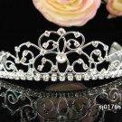Dancer Opera Tiara;Elegance Headpiece;Wedding Silver Tiara;Bridal imperial#176s