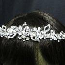 Wedding Silver Tiara;Fancy Headpiece;Fashion Dancer Opera Tiara;Bridal imperial#9989