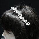 Wedding Silver Headband;Fancy Headpiece;Fashion Dancer Opera Tiara;Bridal imperial#7156
