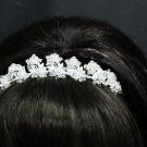 Wedding Silver Tiara;Fancy Headpiece;Fashion Dancer Opera Tiara;Bridal imperial#2109