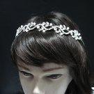 Wedding Silver Headband;Fancy Headpiece;Fashion Dancer Opera Tiara;Bridal imperial#874