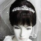 Wedding Silver Headband;Fancy Headpiece;Fashion Dancer Opera Tiara;Bridal imperial#7785