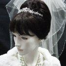 Wedding Silver Headband;Fancy Headpiece;Fashion Dancer Opera Tiara;Bridal imperial#9216