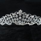 Elegance Wedding Silver Regal;Fancy Headpiece;Fashion Dancer Opera Tiara;Bridal imperial#580