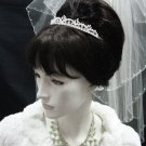Elegance Wedding Silver Regal;Fancy Headpiece;Fashion Dancer Opera Tiara;Bridal imperial#2420
