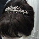 Fancy Wedding Silver Regal;Elegance Headpiece;Fashion Dancer Opera Tiara;Bridal imperial#2468