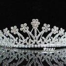 Elegance Wedding Silver Regal ;Gorgeous Headpiece;Fashion Dancer Opera Tiara;Bridal imperial#2581
