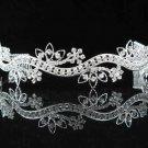Gorgeous Headpiece;Elegance Wedding Silver Regal ;Fashion Dancer Opera Tiara;Bridal imperial#33