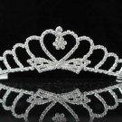 Gorgeous Headpiece;Fashion Dancer Opera Tiara;Elegance Wedding Silver Regal ;Bridal imperial#200