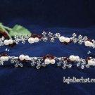Twin Layer Bridal Headband;Fashion Dancer Opera Tiara;Elegance Wedding Silver Regal#4054R