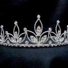 Bridesmaid Bridal Headpiece;Fashion Dancer Opera Tiara;Elegance Wedding Silver Regal#176