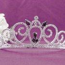 Gorgeous Headpiece;Fashion Dancer Opera Tiara;Elegance Wedding Silver Regal ;Bridal imperial#169r