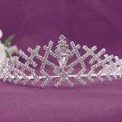Bridal imperial;Gorgeous Headpiece;Fashion Dancer Opera Tiara;Elegance Wedding Silver Regal#526