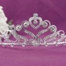 Bridal imperial;Gorgeous Headpiece;Fashion Dancer Opera Tiara;Elegance Wedding Silver Regal#1316