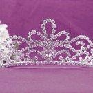 Gorgeous Headpiece;Bridal imperial;Fashion Dancer Opera Tiara;Elegance Wedding Silver Regal#9313