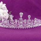 Fashion Dancer Opera Tiara;Fancy Headband;Bridal imperial;Elegance Wedding Silver Regal#327