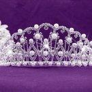Elegance Wedding Silver Regal;Fashion Dancer Opera Tiara;Fancy Headpiece;Bridal imperial#4641